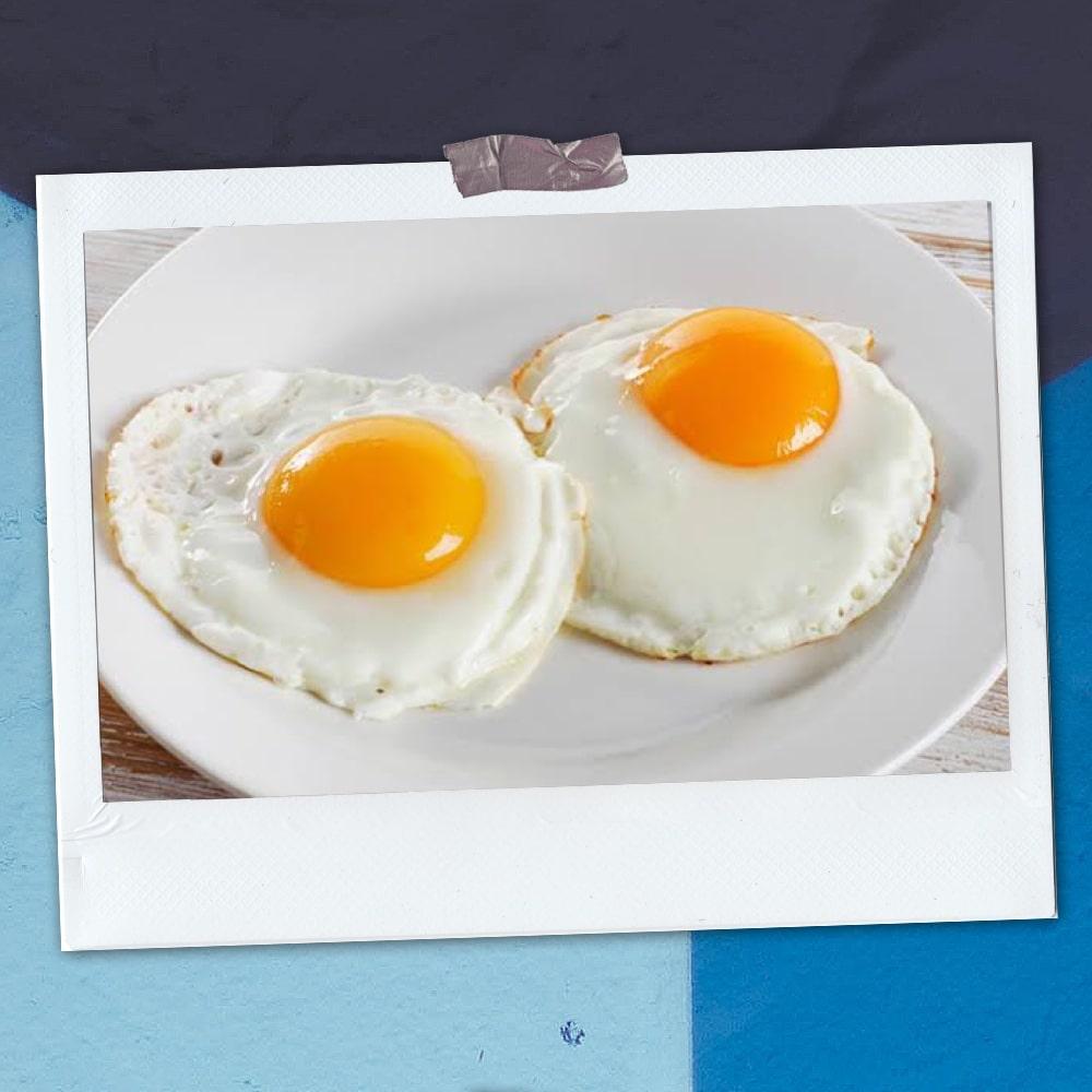 omelette with 2 fresh eggs